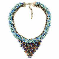 Halskette Abend Kette Statementkette Charms Necklace Collier L514