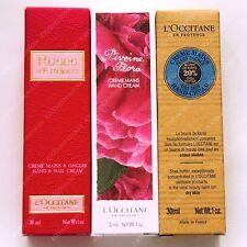 3pc set L'occitane rose et reines pivoine flora & shea butter hand cream ea30ml