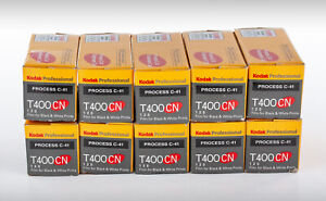 Kodak T400CN 120 Film (10 Rolls)