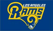 NFL Los Angeles Rams Flag/Banner 3x5 Feet New Free Shipping From China