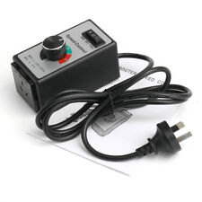 Aus 8a 220v-240v Variable Speed Controller Control Motor Rheostat for Router