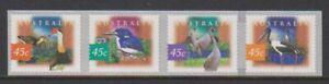Australia - 1997, Fauna & Flora, 2nd series set - Perf 12.5-Adhesive - SG 1631/4