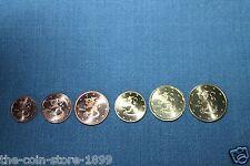 1 / 2 / 5 / 10 / 20 / 50 Euro Cent Finnland 2004 Kursmünzen aus Rolle UNC RAR!!!