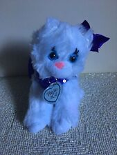 "Poochie And Co. Purple Kitty Purse 10"" Plush Purse"