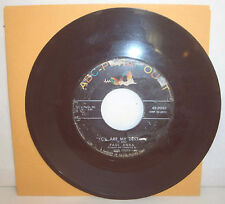 "Vtg 45 RPM Record-PAUL ANKA ""You're My Destiny"" & ""When I Stop Loving You"""