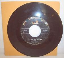 "Vtg 45 RPM Record-PAUL ANKA ""You're My Destiny"" & ""When I Stop Loving You"""