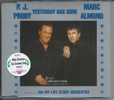 P.J. PROBY / MARC ALMOND - Yesterday has gone CDM 4TR (CD2) EMI 1996 (STICKERED)