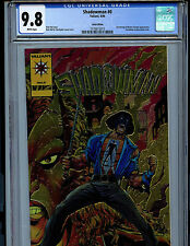 Shadowman Issue #0 CGC 9.8 NM/MT Gold Chromium Comic 1992 Valiant Comics