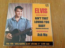Elvis Presley minidisc - AINT THAT LOVING YOU BABY/ASK ME - sealed!