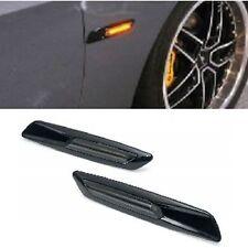 2 REPETITEUR BMW SERIE 5 E60 E61 BERLINE TOURING 2003 A2010 LED NOIR LOOK F10