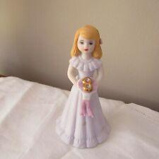 Growing Girl figurine Birthday Girl 8