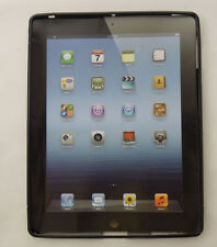 For Apple iPad 3 Soft Washable Silicone Back Case Skin Cover