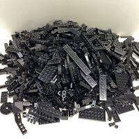 Lego 3lbs 6oz Bulk Lot Black Bricks Blocks Specialty Parts Pieces Star Wars Etc