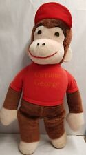 Vintage Knickerbocker Toy Company Curious George Plush Toy c1968-83 60cm Monkey