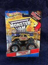 Monster Jam WRECKING CREW 1:64 Truck Hot Wheels Topps Trading Card Series NM