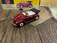 Corgi Vanguards VA2000 Volkswagen VW Beetle Cabriolet Red 1:43 Scale