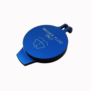 11-14 Billet Washer Fluid Cap Technology Blue Charger 300 JEEP Ram Dakota