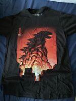 New SDCC 2015 Creature Loot Crate Exclusive Godzilla Shirt Small Bioworld
