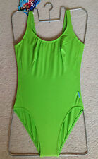 New Ory Spa Quality Bathing Suit with lining - Green UK 10 new with tags