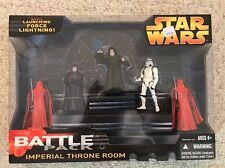 Star Wars IMPERIAL THRONE ROOM Battle Pack GIFT SET~ Hasbro 2005