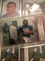 1998 SPx Finite #187 Fred Taylor RC PSA 8 NR MINT Jaguars Gators
