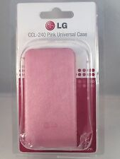 LG CCL-240 Pink Universal Case Secret, Cookie, Renoir, Viewty & Arena Compatible