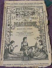 Peterson's Ladies National Magazine March 1886