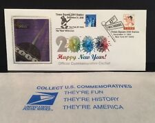 1999 & 2000 Times Square Station Millenium Stamp Official Commemorative Cache