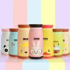 Cute Cartoon Travel Thermos Vacuum Drink Cup Mug Thermal Flask Water Bottle 7190