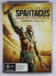 Spartacus Gods Of The Arena DVD NEW TRACKED POST