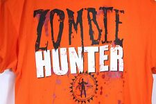 Zombie Hunter Size 2XL Bright Orange Zombie License Costume Halloween T-Shirt