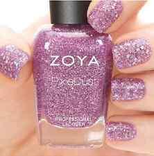 ZOYA ZP763 ARLO violet amethyst glitter nail polish SUMMER MAGICAL PIXIEDUST New