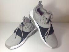 Nike Air Max Mens Trainer 1 Leather Sz 12 Grey Blk Whi A05376 002