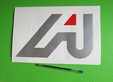 Aprilia A Badge Track bike or road fairing Decals Stickers PAIR #205