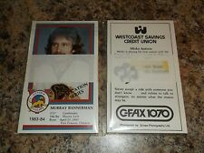 1983-84 Victoria Cougars WHL TEAM Set