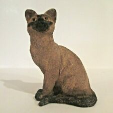 A Siamese Cat Resin Figurine