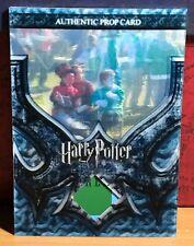 Harry Potter 3D Goblet Fire Prop card Quidditch World Cup Program P13 #29