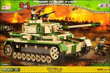 COBI Panzer IV Ausf. F1/G/H (2508 A) - 500 elem. - WWII German medium tank