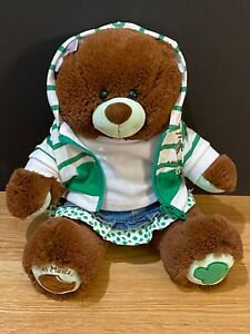 Build A Bear - Thin Mints Girl Scouts Teddy Bear and Outfit with Tags