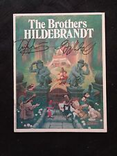 The Brothers Hildebrandt Greg Tim Signed 1978 Art Book LOTR