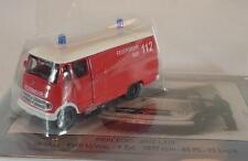 Schuco 1/87 MERCEDES BENZ l319 pompiers avec tôle bouclier OVP #1201
