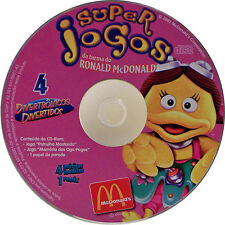 Super Jogos Da Turma do Ronald McDonald #4 (CD-ROM, 2003 McDonald's Corp)