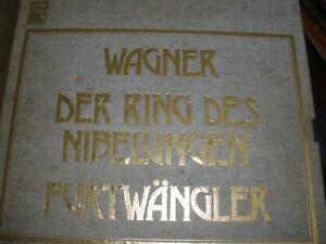 Der Ring Des Nibelungen 18-Record Box Set & Booklets HMV RLS 702 Furtwangler
