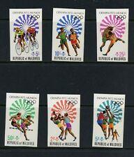 Maldives 1972  Olympics  IMPERF   6v.    MNH  M310