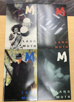 M Fritz Lang Johj Muth Comic Graphic Novels  lot of 4 books 1, 2, 3, 4 Arcane