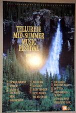 TELLURIDE SUMMER FESTIVAL - 1991 -POSTER BGP#43 - ALLMAN BROS - WSP - JOE COCKER