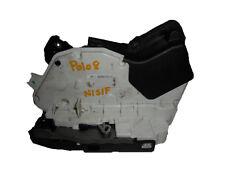 *VW POLO MK5 6R 10-15 PASSENGER LEFT FRONT DOOR LOCK MECHANISM 5K2837015D