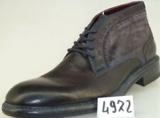 Lorenzi Mens Shoes Made in Italy Leather Handmade Italian Boots EUR 43 / 44