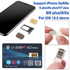 Nano Unlock SIM Card U-SIM4G PRO II Perfect For iOS 12 13 iPhone X XR XS Max