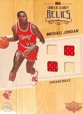 Michael Jordan Bulls HOF 2016-17 UD Supreme Hard Court Game Used Jerseys / Floor